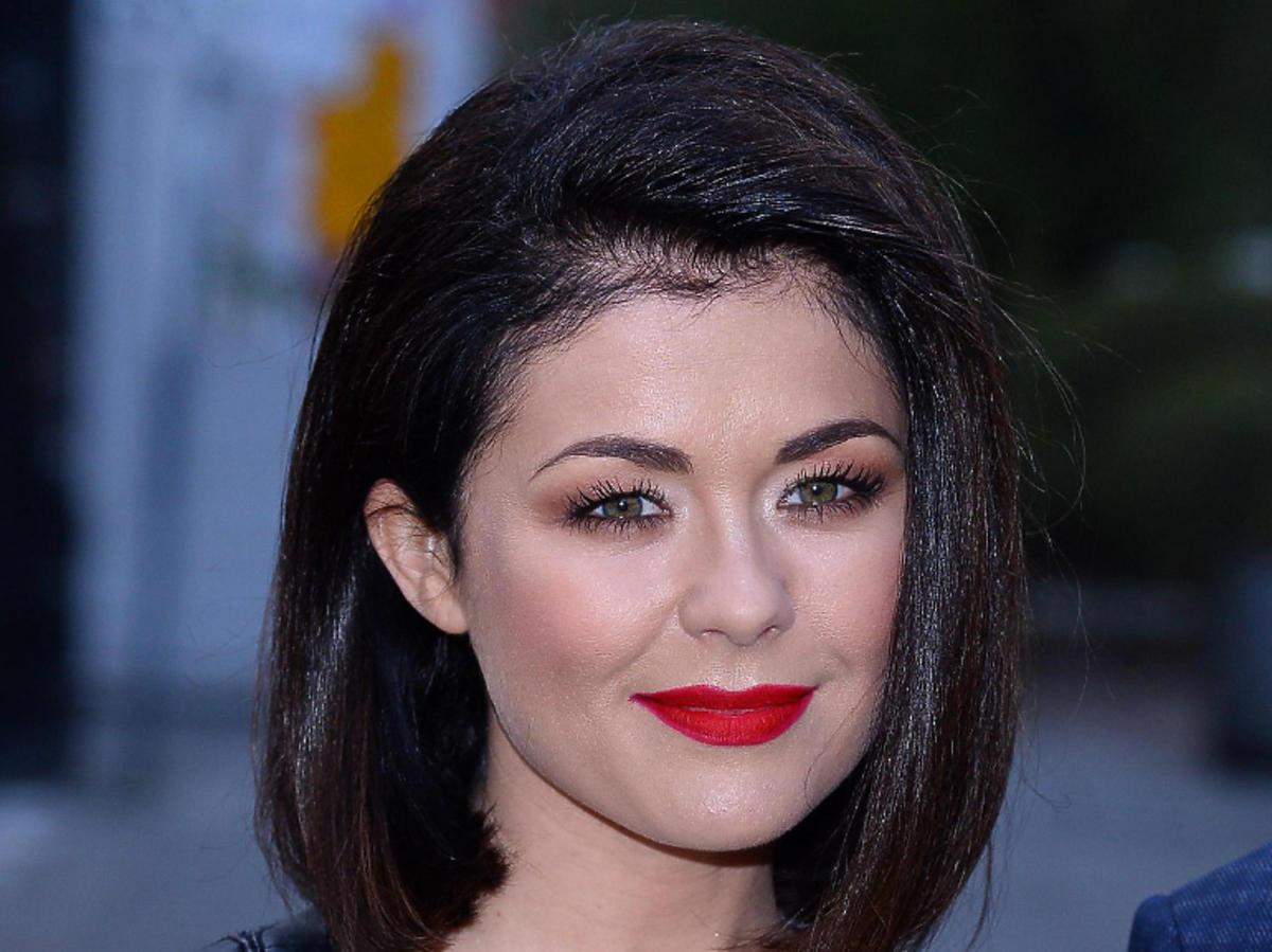 Katarzyna Cichopek  ma krótkie włosy
