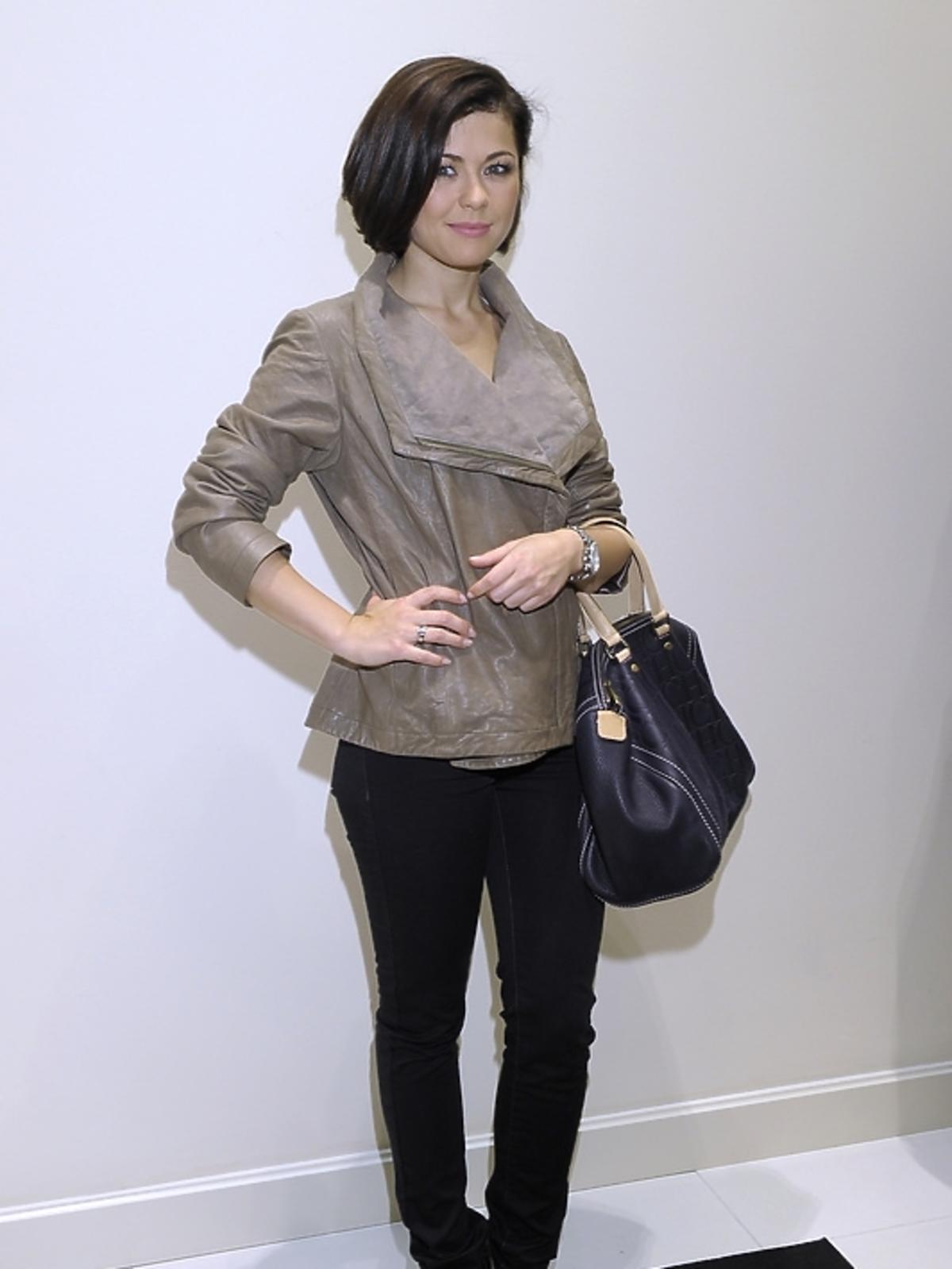 Katarzyna Cichopek na prezentacji kolekcji Laura Guidi