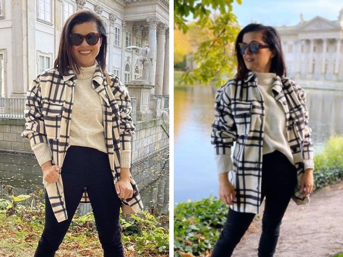 Katarzyna Cichopek w hitowych butach i kurtce na jesień! Znalazłyśmy identyczne za 80 zł!