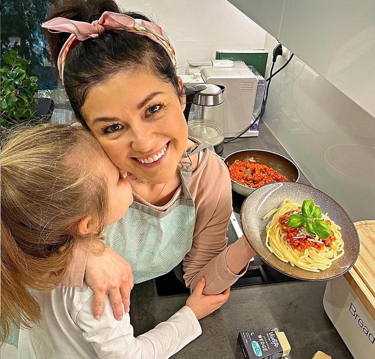Katarzyna Cichopek w kuchni