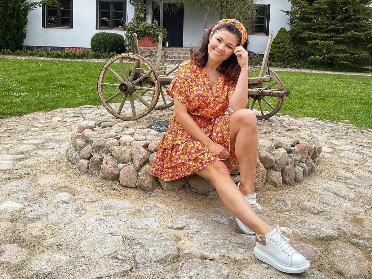 Katarzyna Cichopek w letniej stylizacji