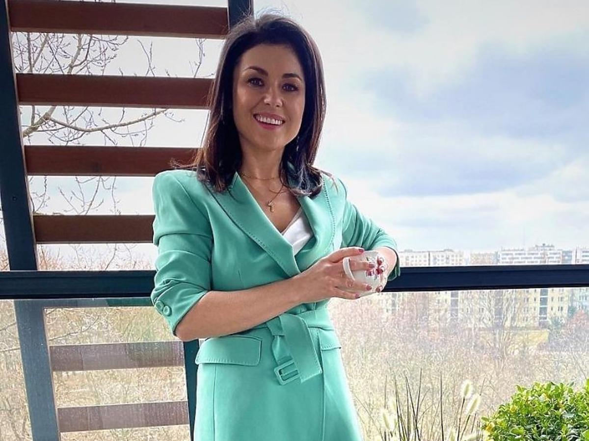 Katarzyna Cichopek w modnej marynarce