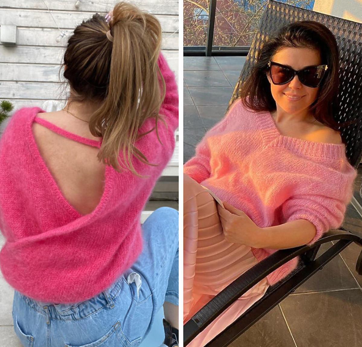 Katarzyna Cichopek w swetrze La Gabrielle