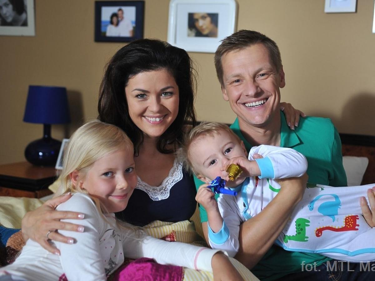 Katarzyna Cichopek z dziećmi