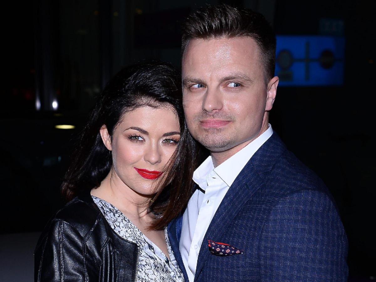 Katarzyna Cichopek z mężem, Marcin Hakiel