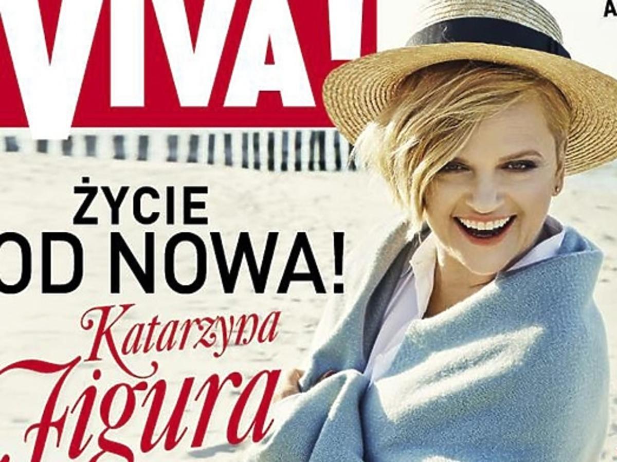 Katarzyna Figura na okładce magazynu Viva
