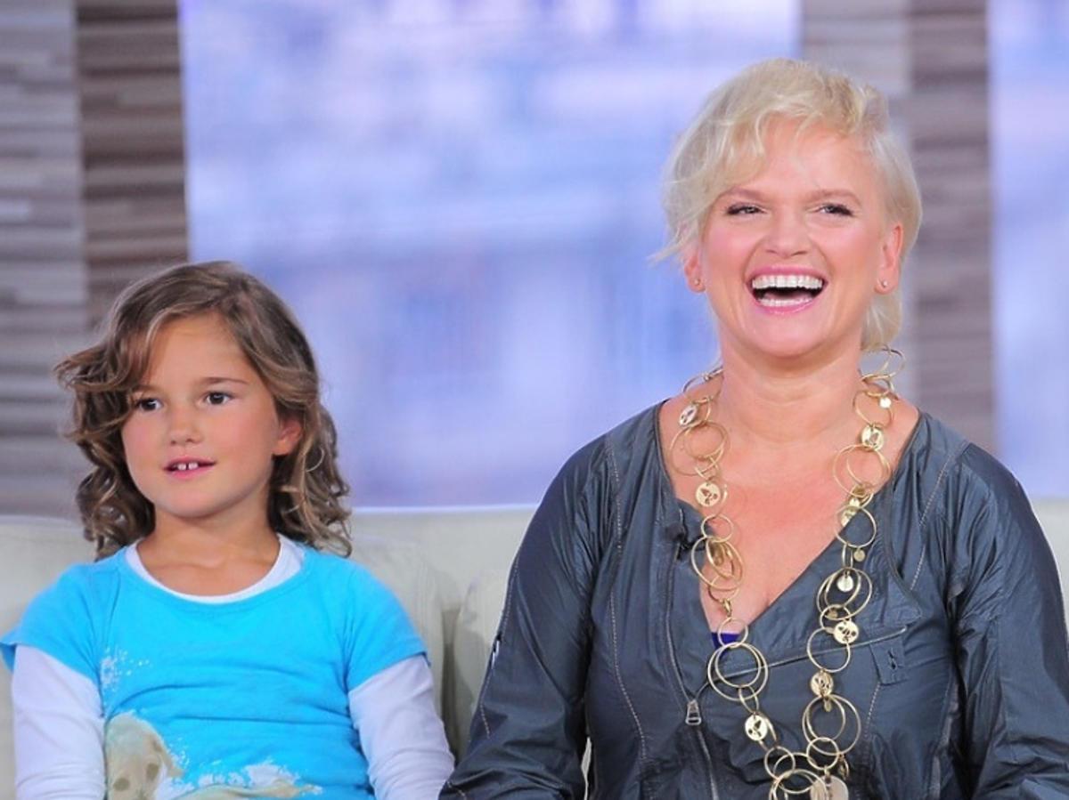 Katarzyna Figura z córką