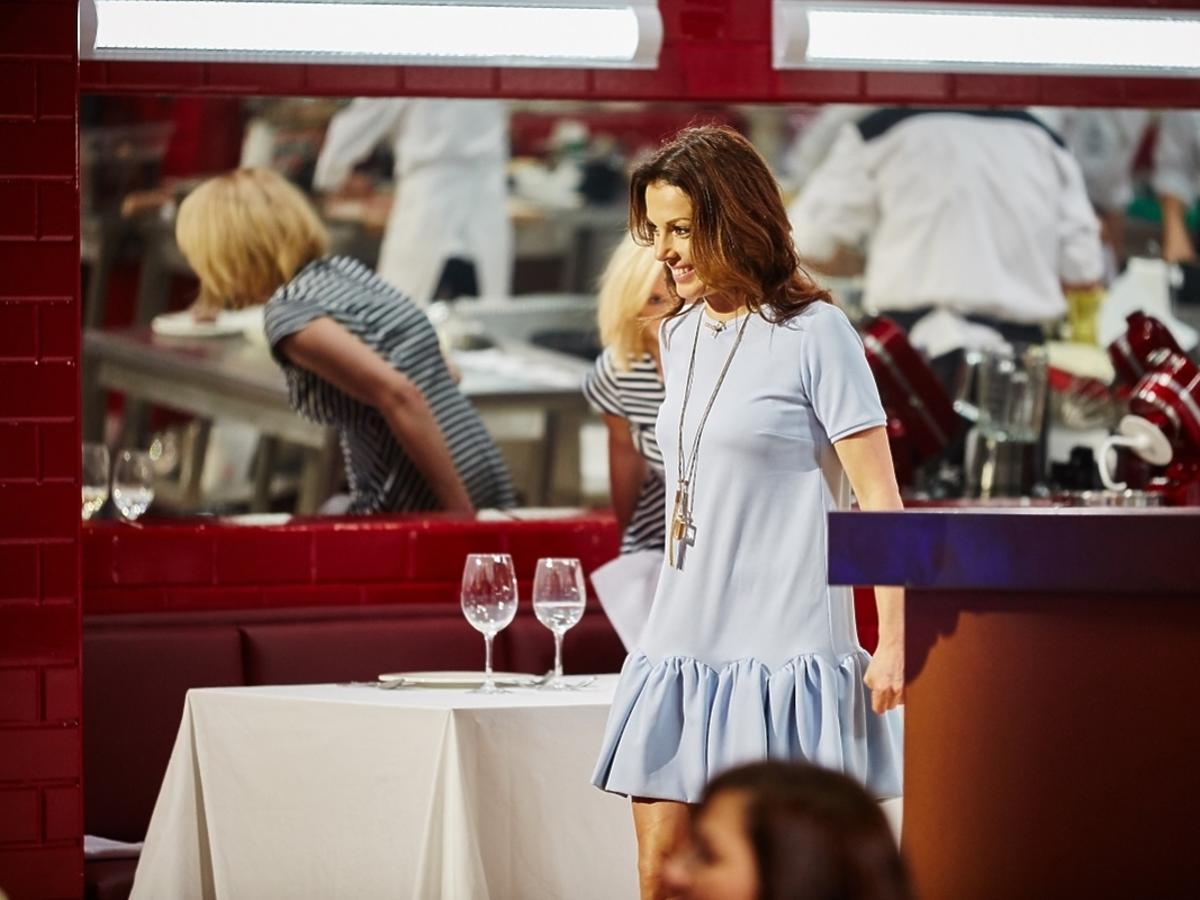 Katarzyna Glinka w Hell's Kitchen