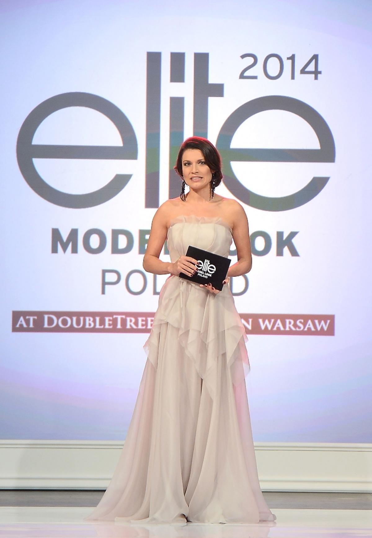 Katarzyna Kępka na gali Elite Model Look 2014