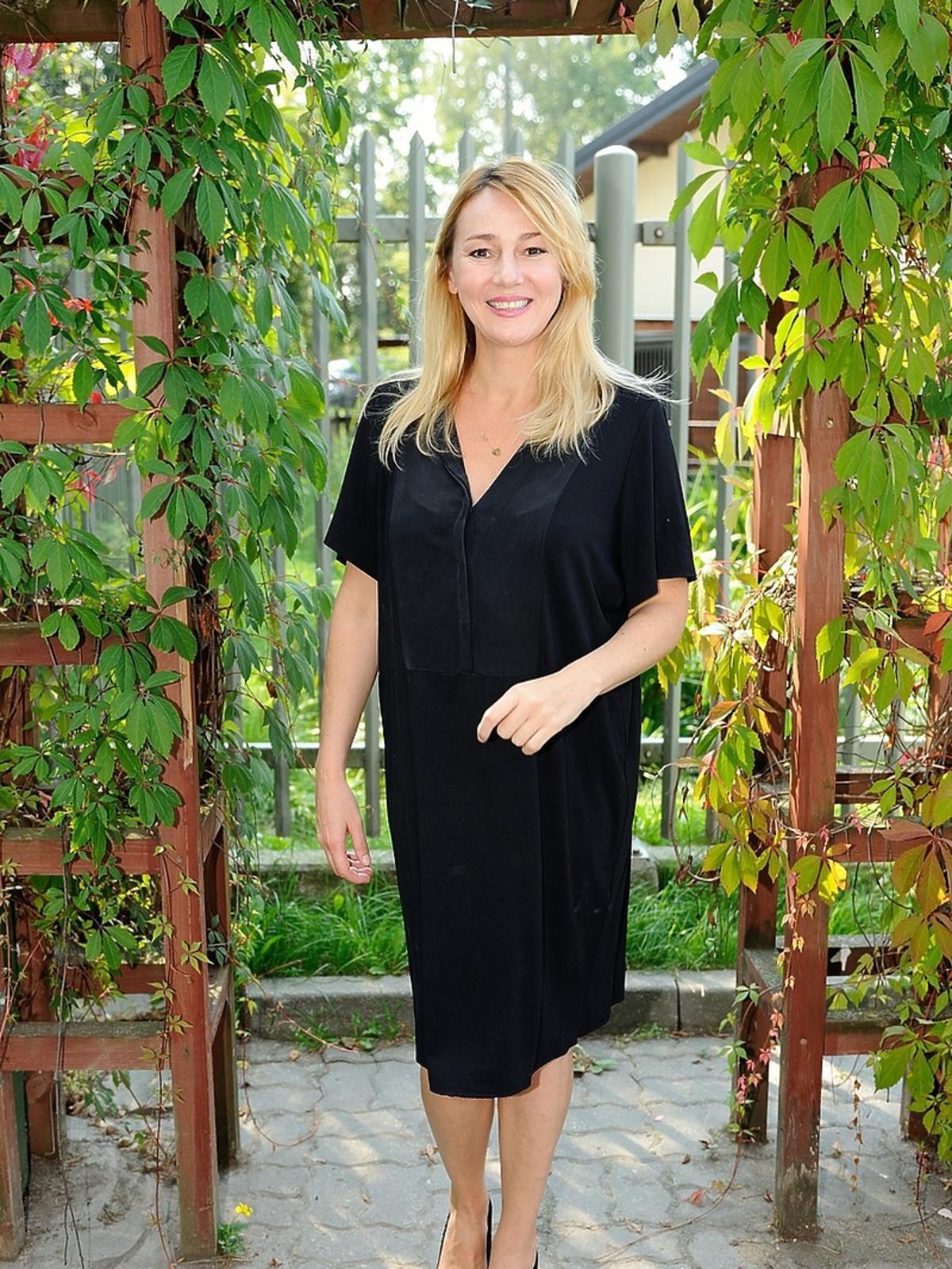 Katarzyna Kwiatkowska na akcji charytatywnej