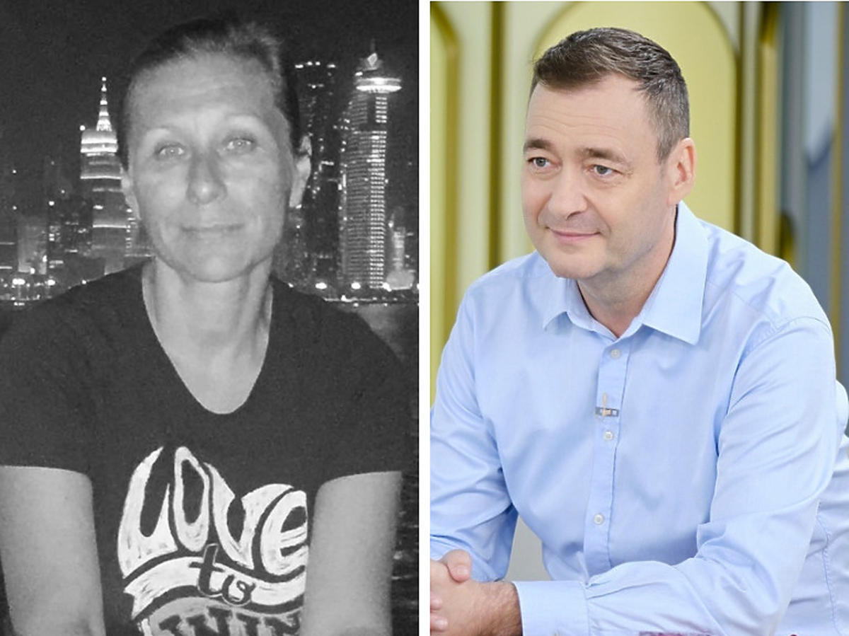 Katarzyna Litiwiniak i Jacek Rozenek