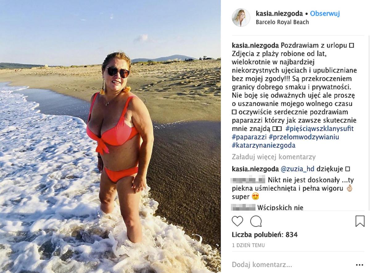 Katarzyna Niezgoda w bikini