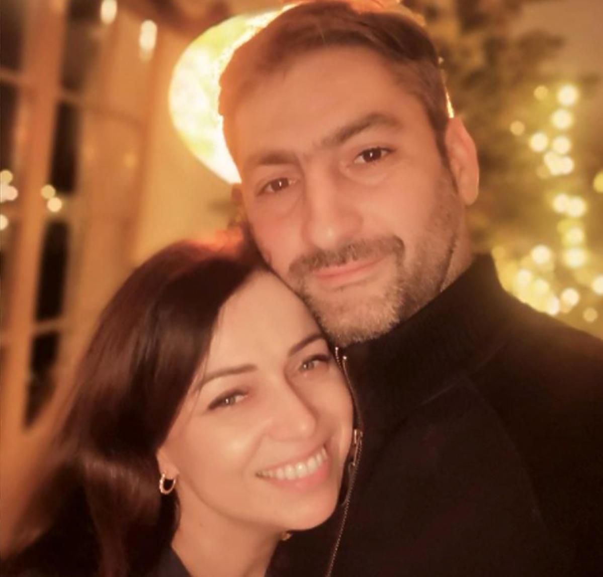 Katarzyna Pakosińska i jej mąż