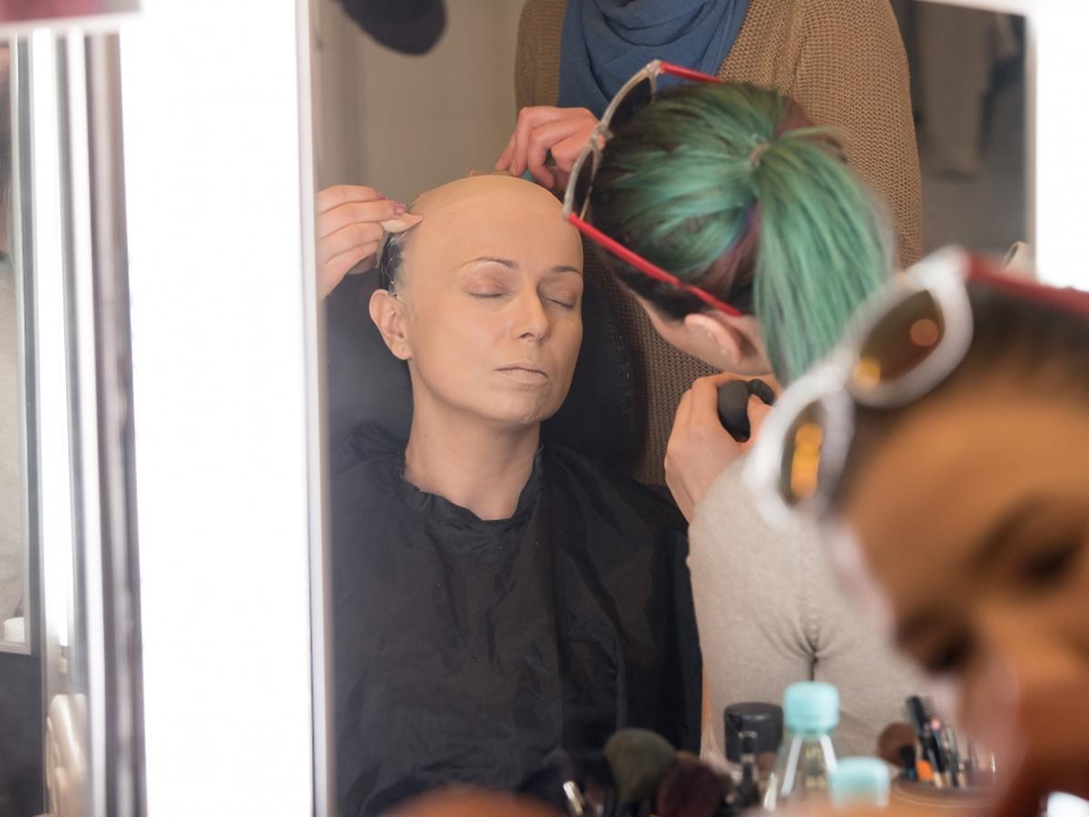 Katarzyna Pakosińska w lustrze