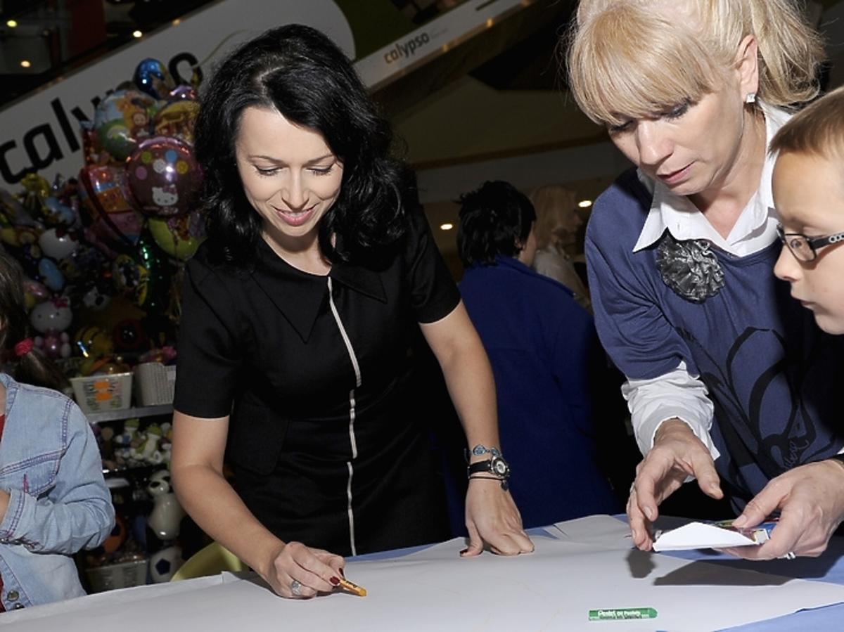Katarzyna Pakosińska wspiera akcję