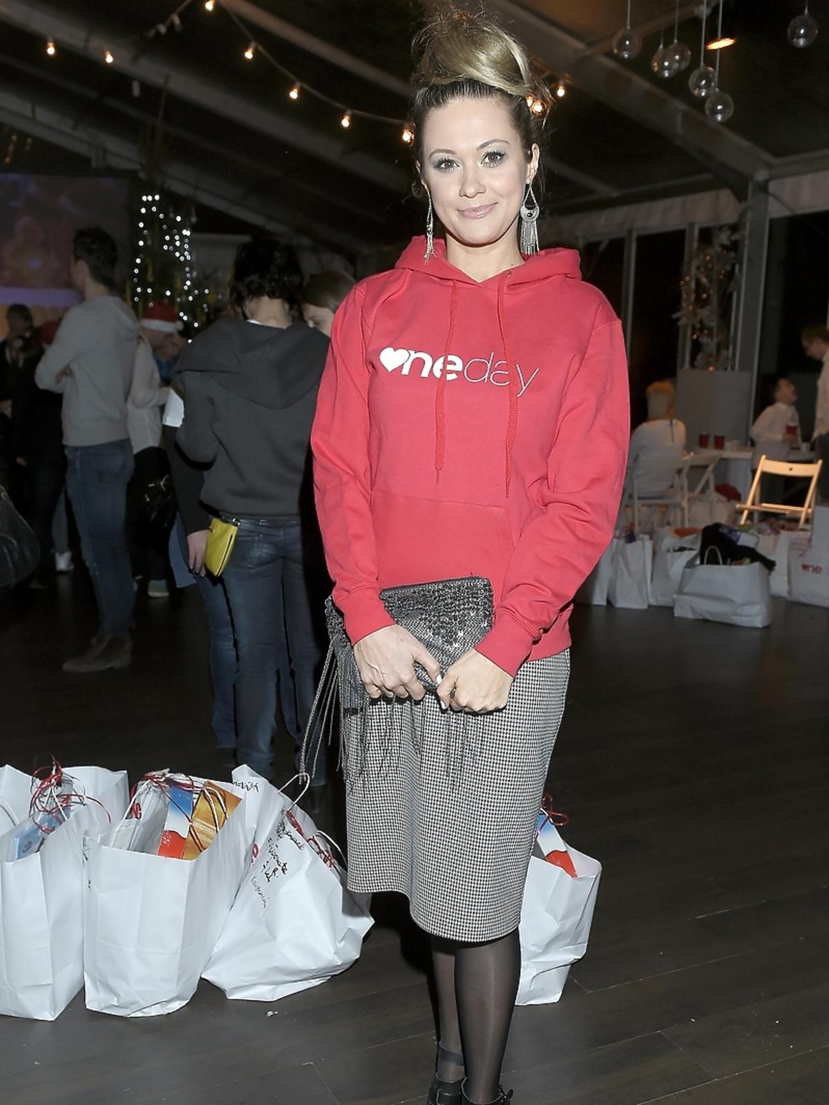 Katarzyna Pierścionek na imprezie charytatywnej fundacji One Day