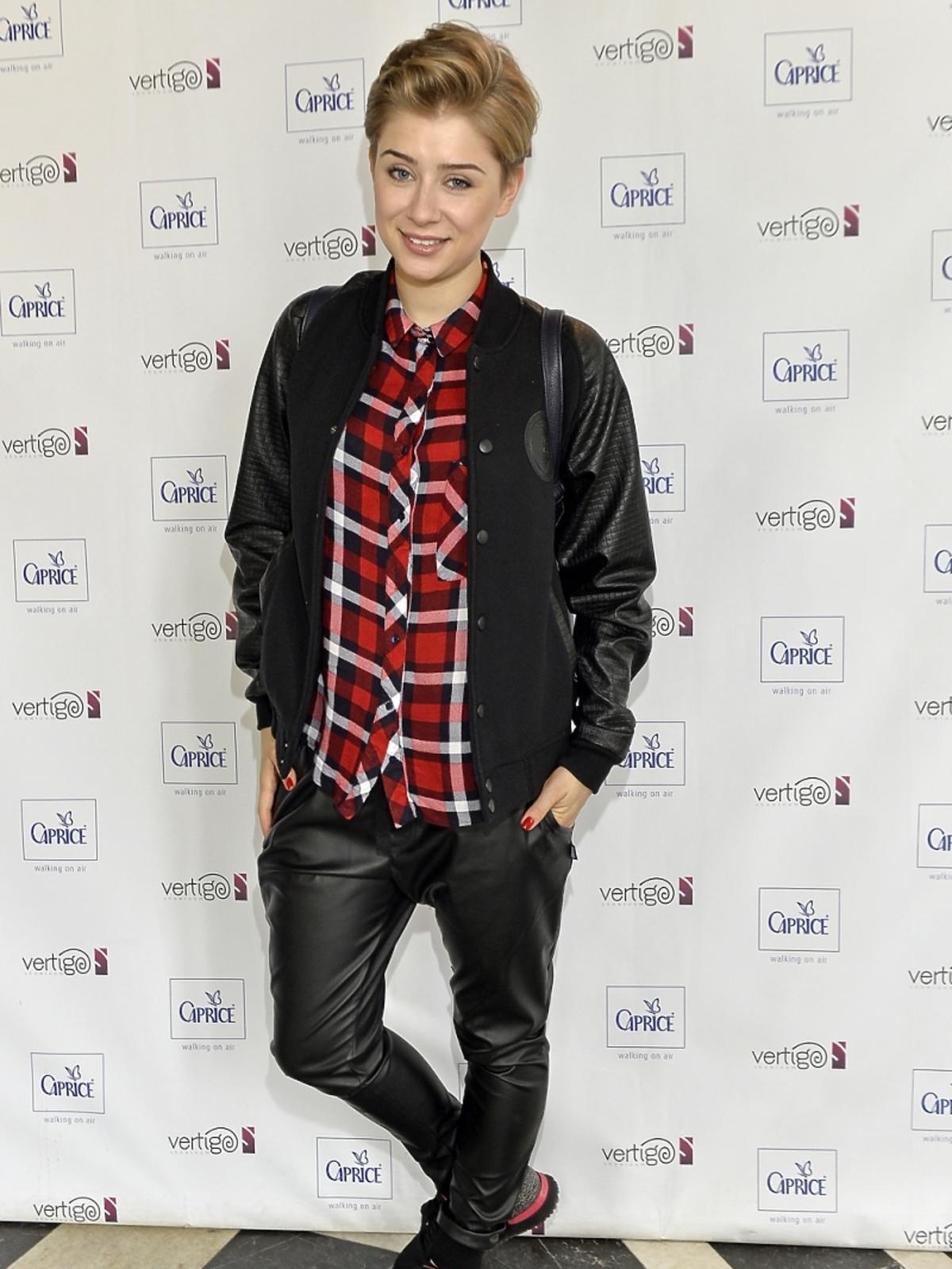 Katarzyna Pyszyńska na dniu otwartym marki Caprice