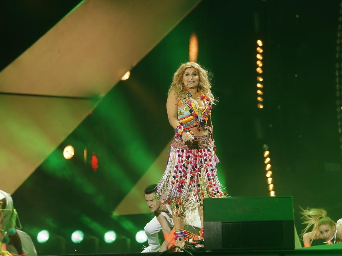 Katarzyna Skrzynecka Sylwester 2014/2015 z Polsatem w Gdyni