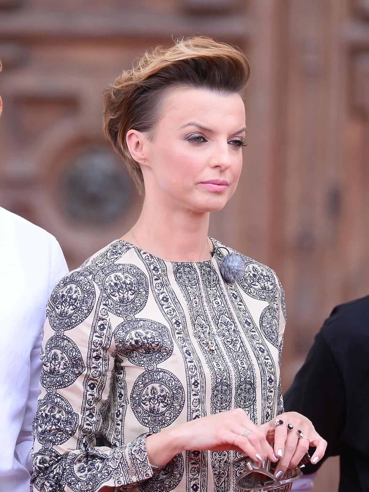Katarzyna Sokołowska na castingu Top Model 4 w Warszawie