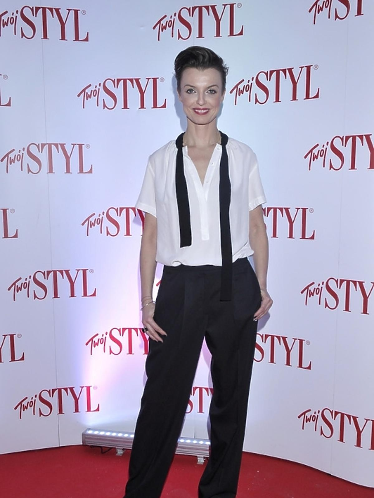 Katarzyna Sokołowska na gali Doskonałość Mody 2012