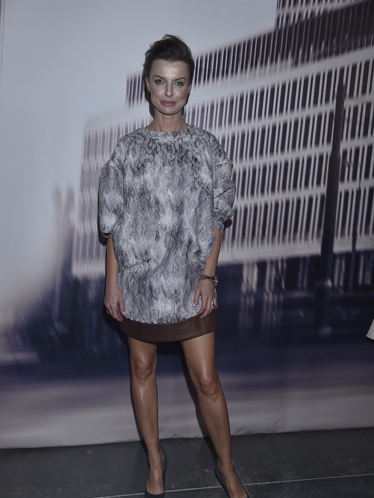 Katarzyna Sokołowska na pokazie Tomaotomo