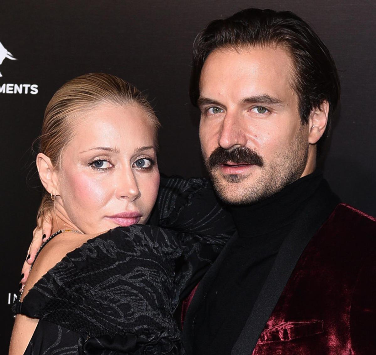 Katarzyna Warnke i Piotr Stramowski na premierze filmu