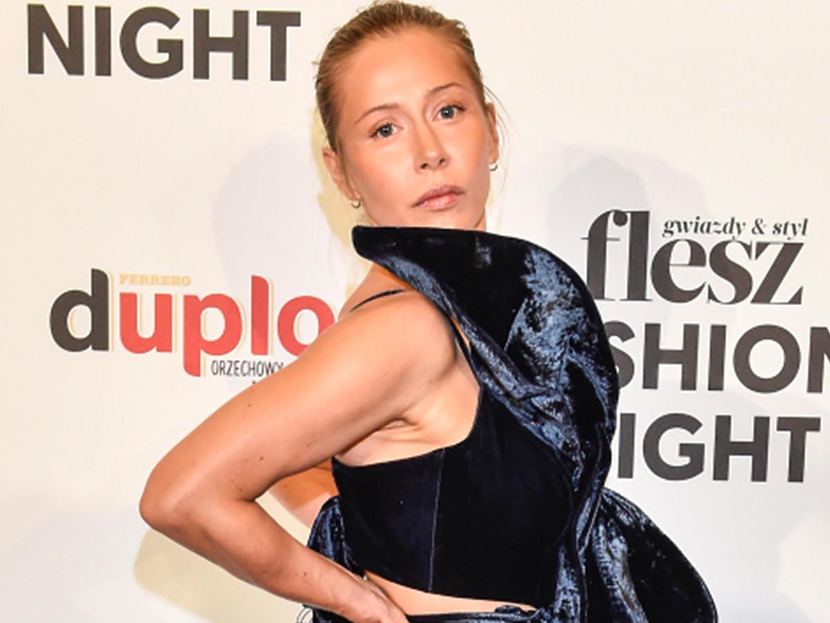 Katarzyna Warnke na Flesz Fashion Night 2021