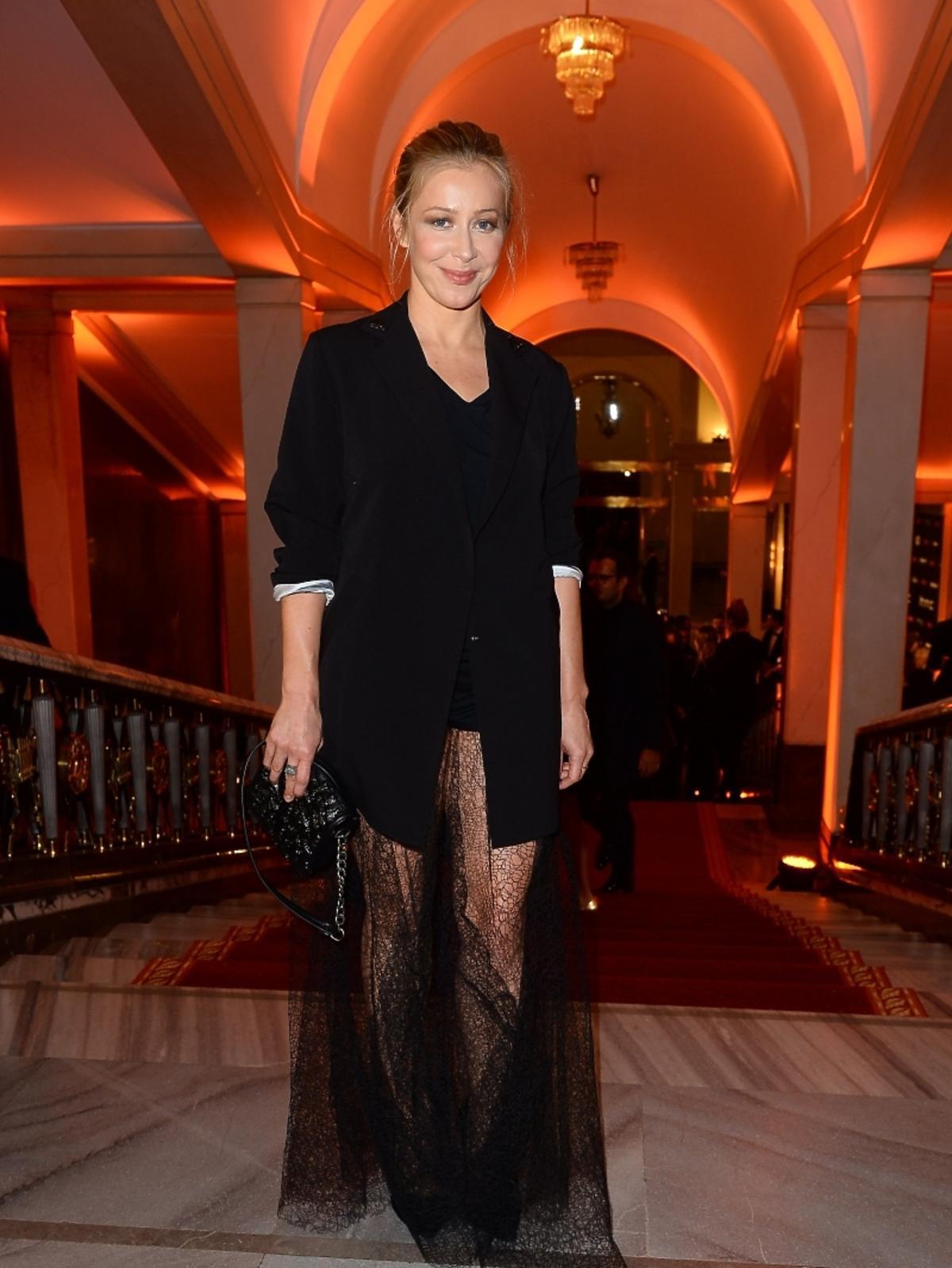 Katarzyna Warnke na imprezie Flesz Fashion Night
