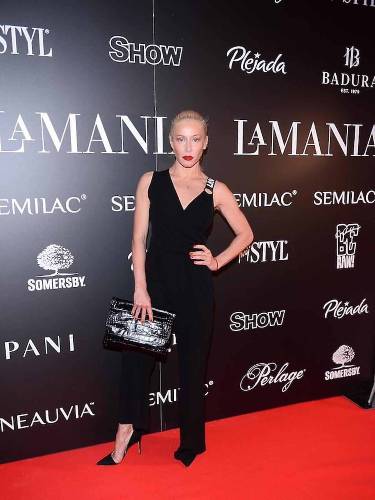 Katarzyna Warnke na imprezie La Manii