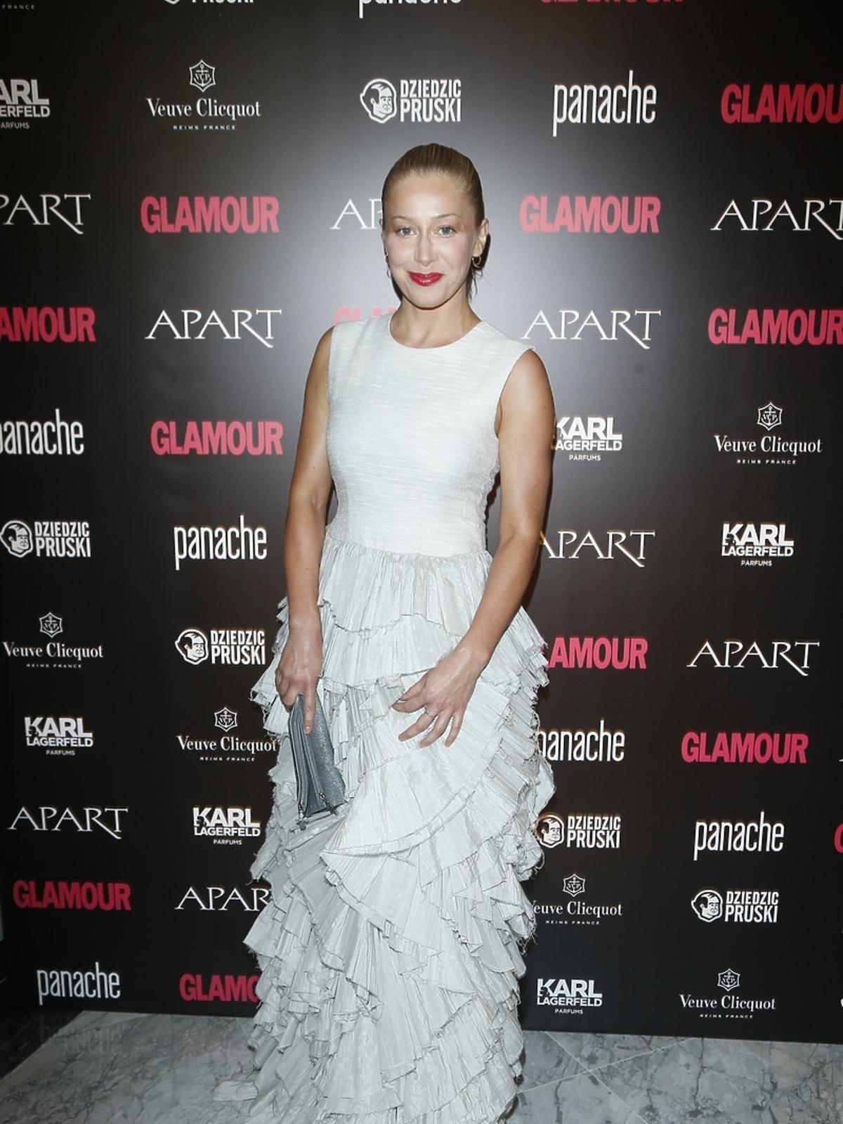 Katarzyna Warnke na Kobieta Roku Glamour 2014