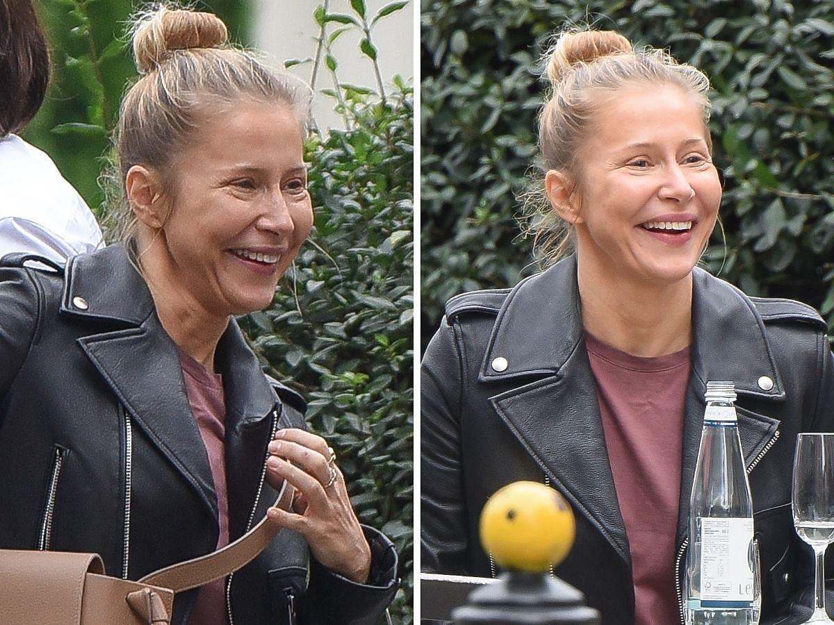 Katarzyna Warnke śmieje się