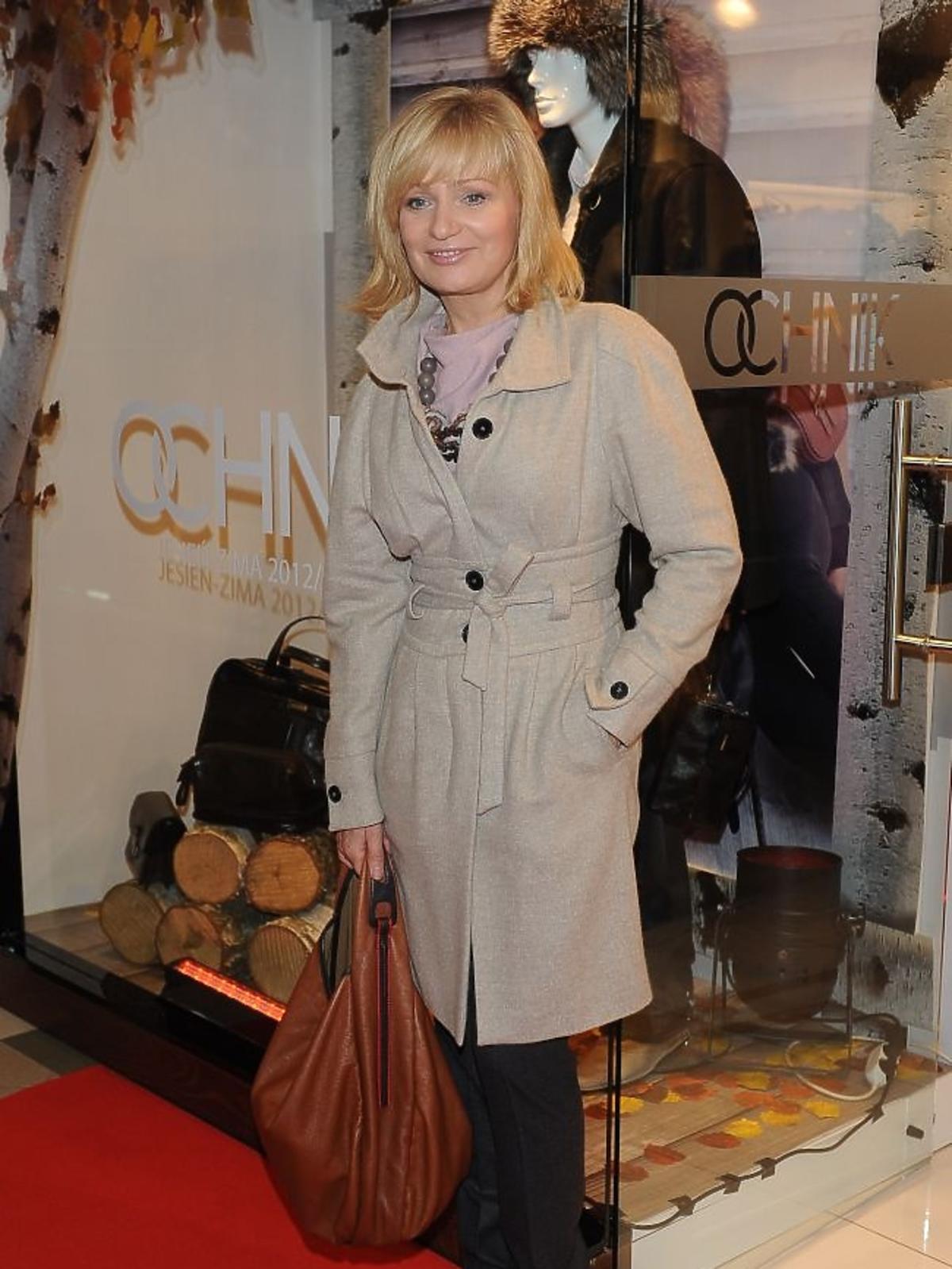 Katarzyna Żak na jesiennych zakupach w salonie Ochnik