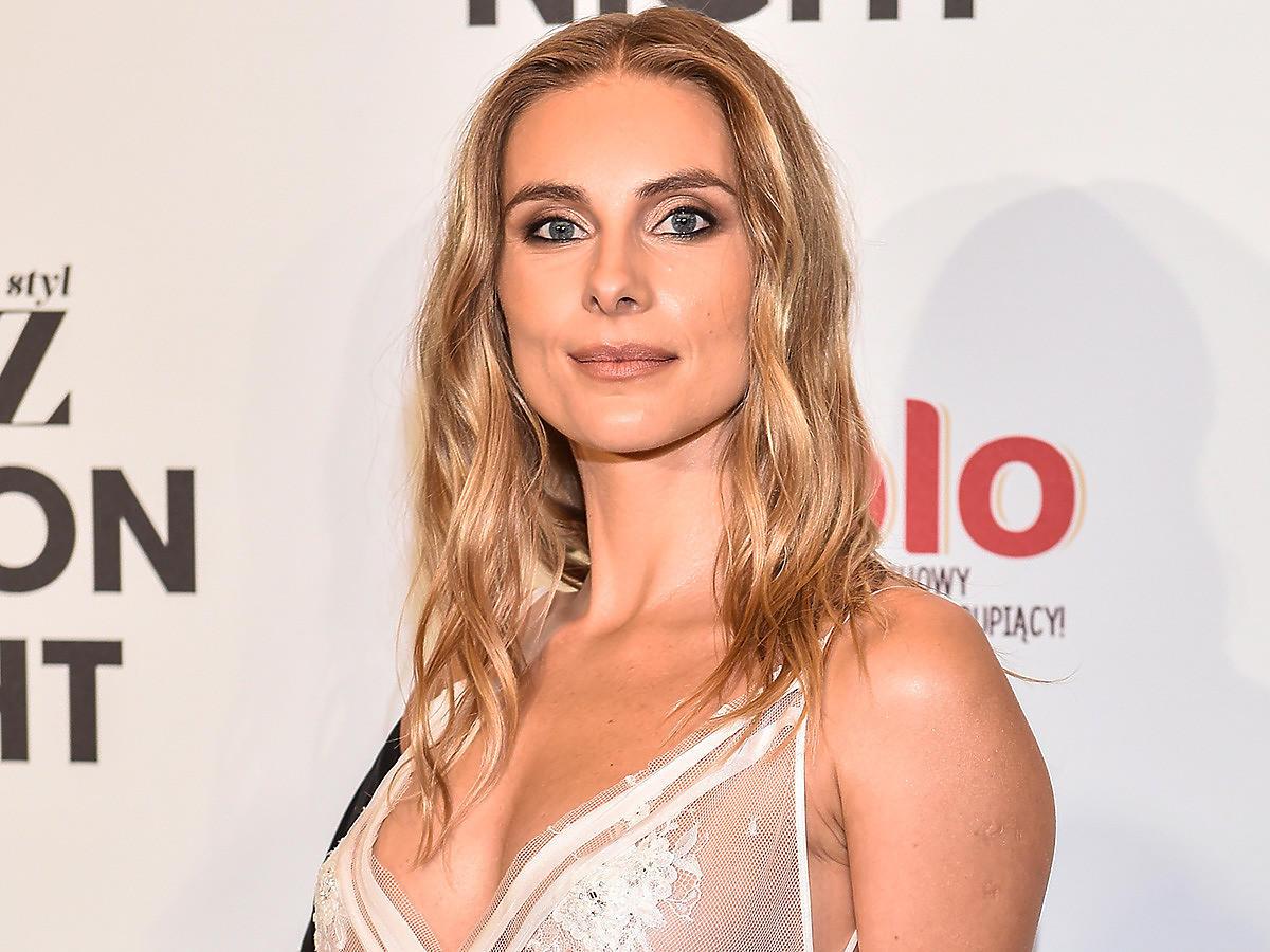 Katarzyna Zawadzka muza Macieja Zienia na Flesz Fashion Night 2021