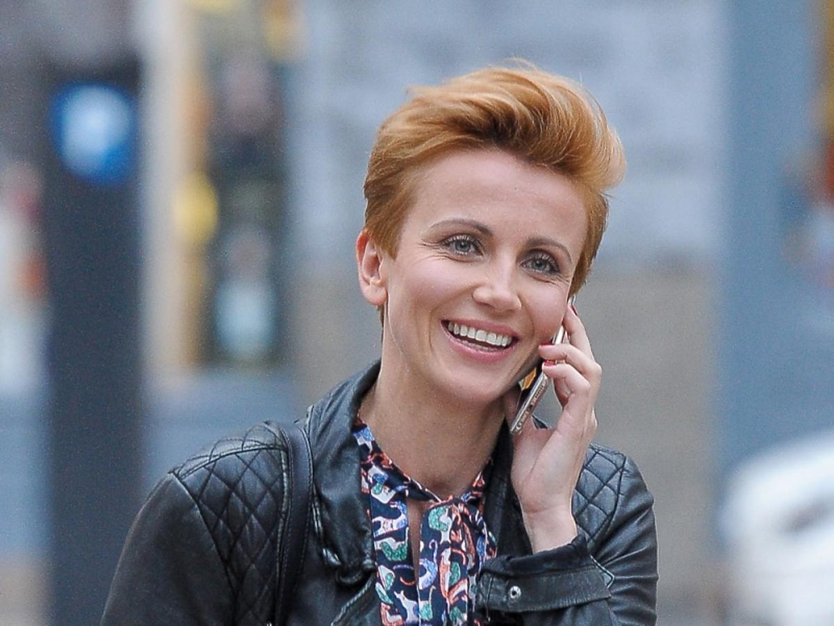Katarzyna Zielińska fryzura