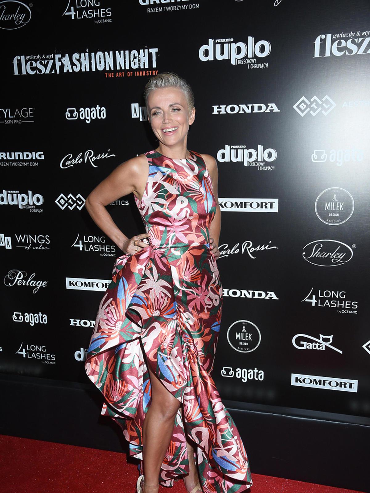 Katarzyna Zielińska na Flesz Fashion Night 2018