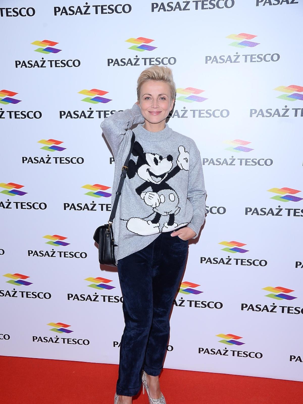 Katarzyna Zielińska na imprezie Tesco