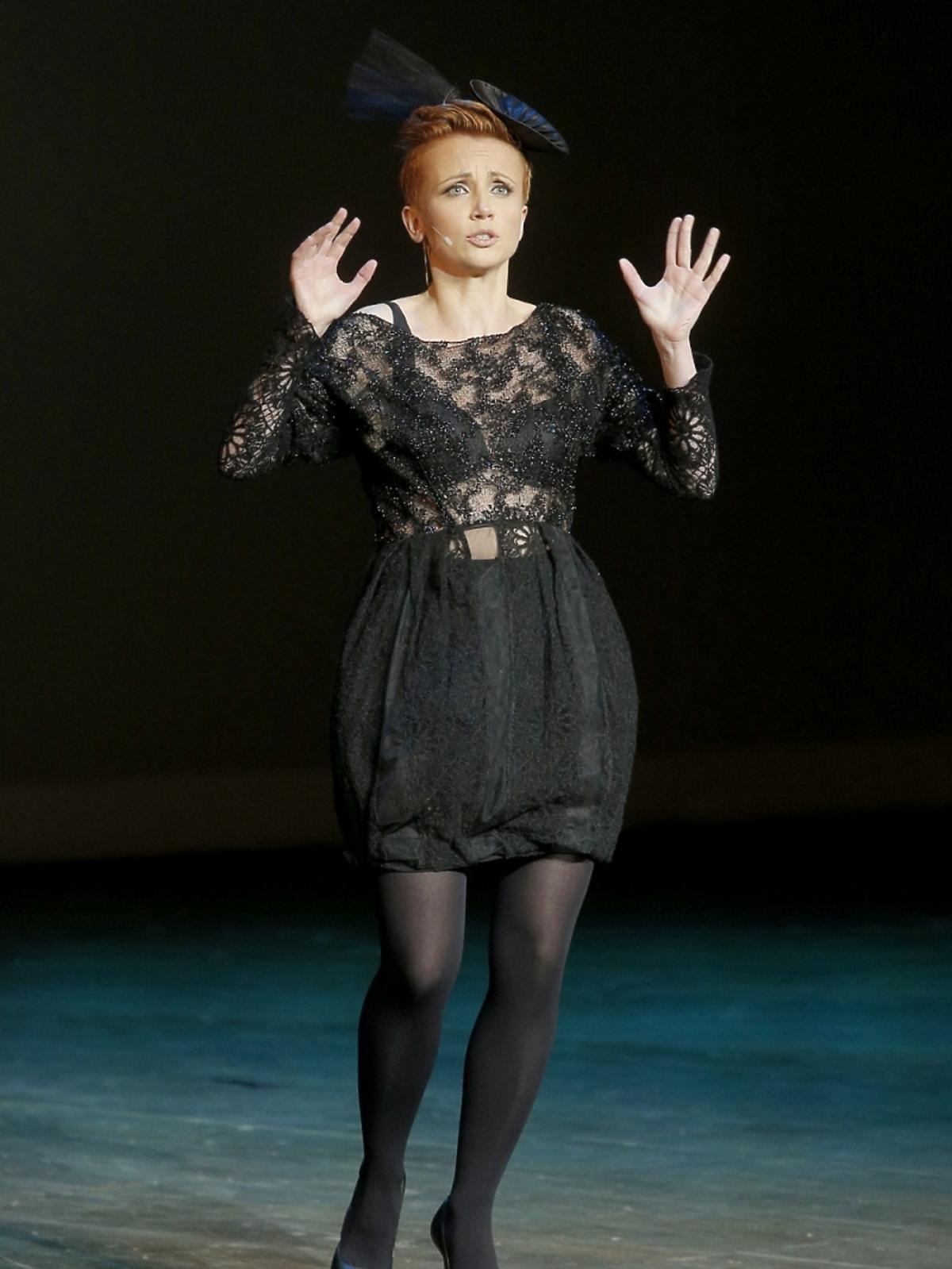 Katarzyna Zielińska na koncercie