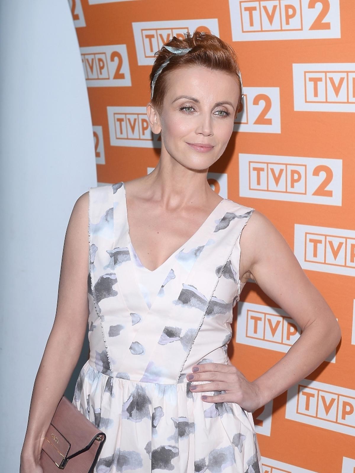 Katarzyna Zielińska na konferencji serialu