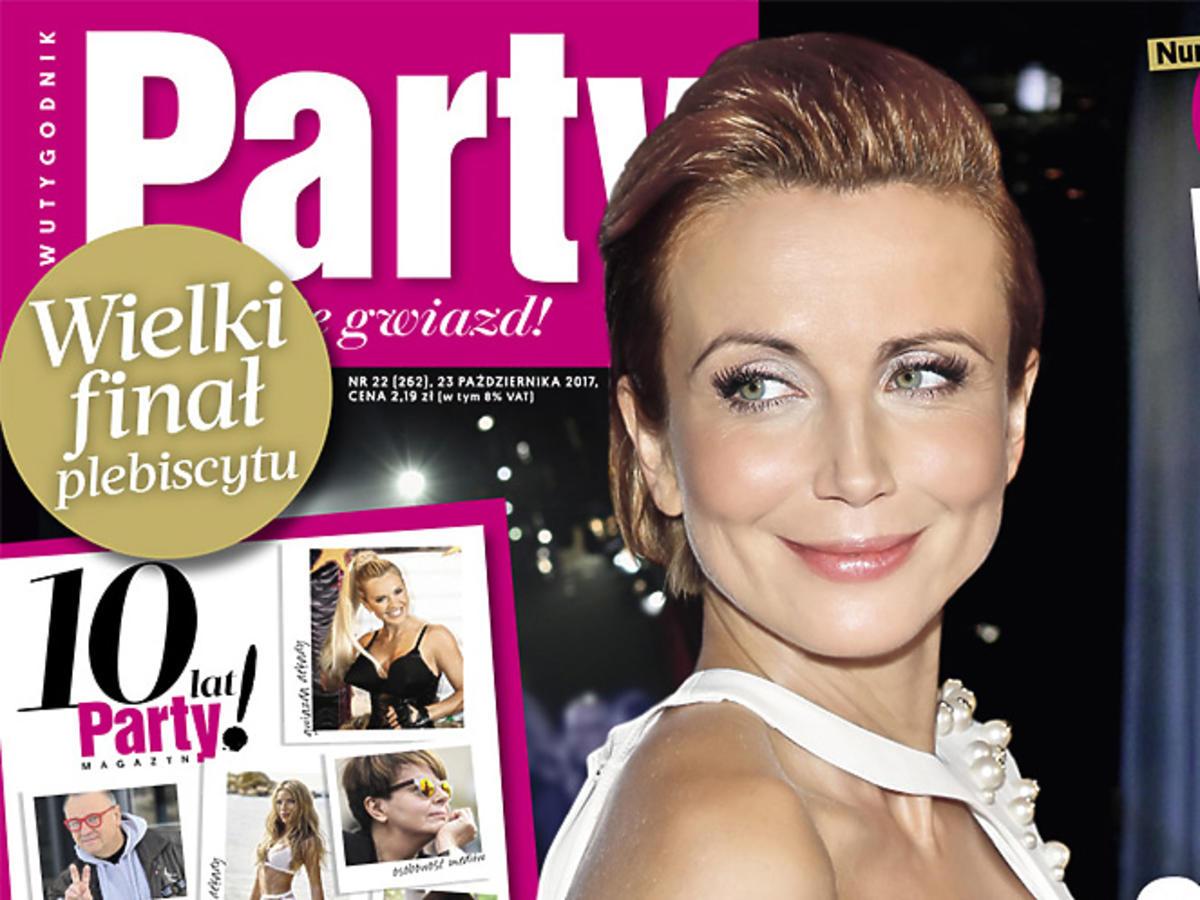 """Katarzyna Zielińska na okładce """"Party"""""""