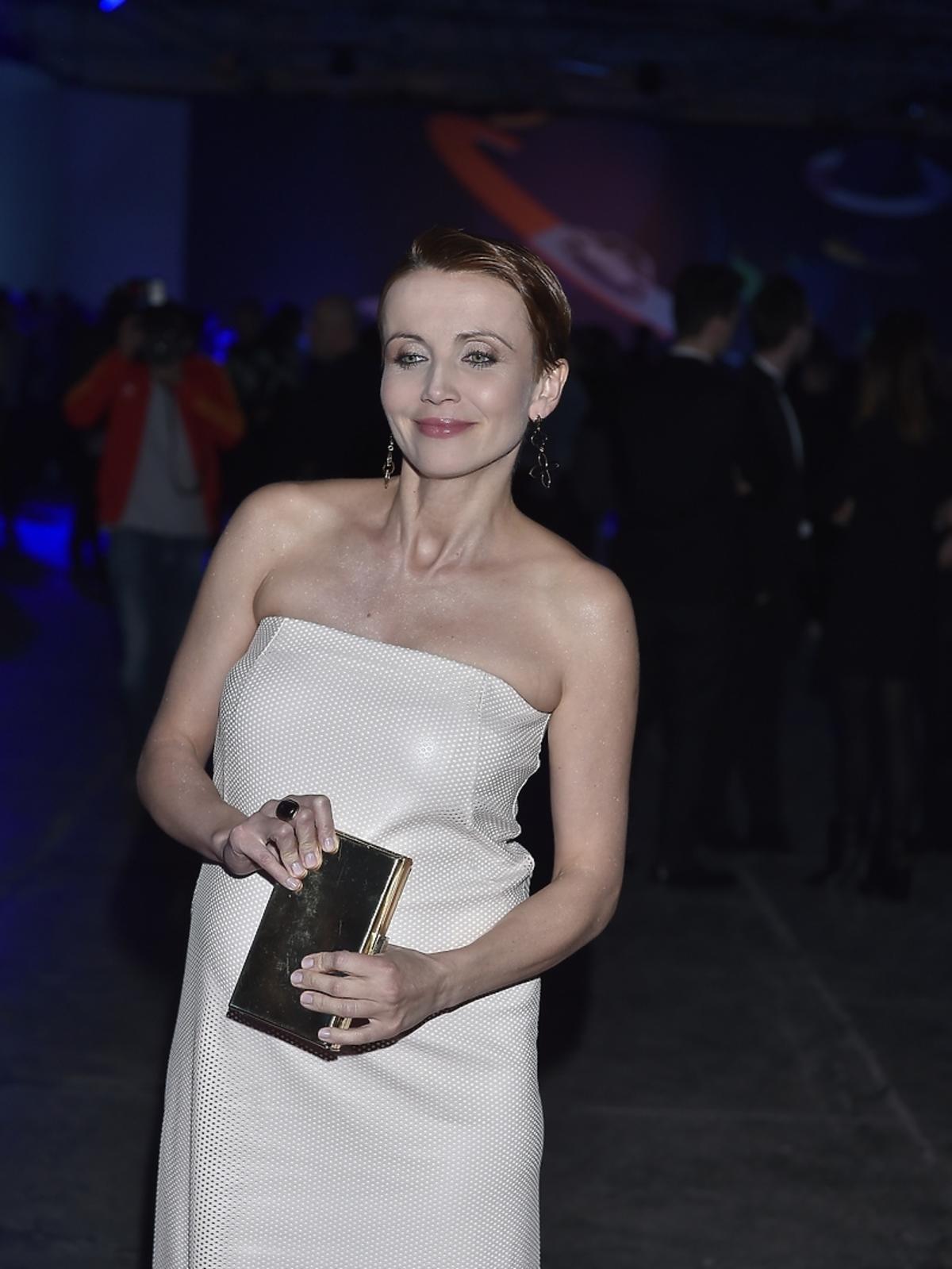 Katarzyna Zielińska na pokazie Bizuu