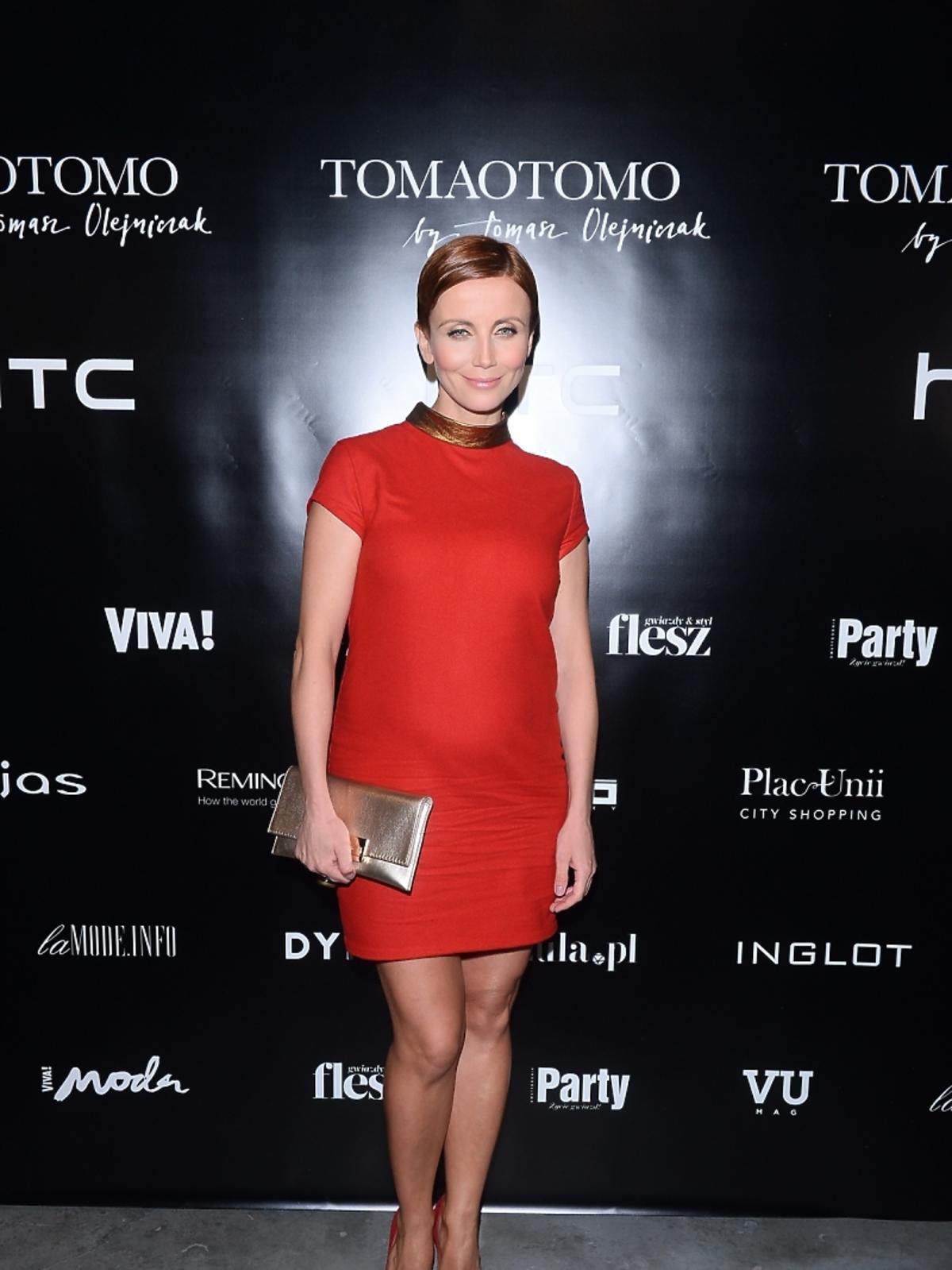 Katarzyna Zielińska na pokazie Tomaotomo