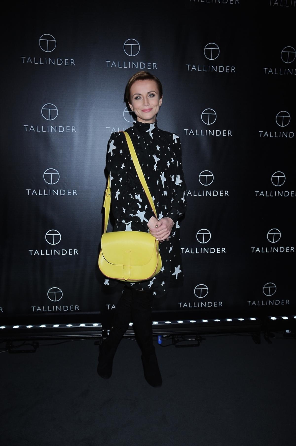 Katarzyna Zielińska na prezentacji nowej marki