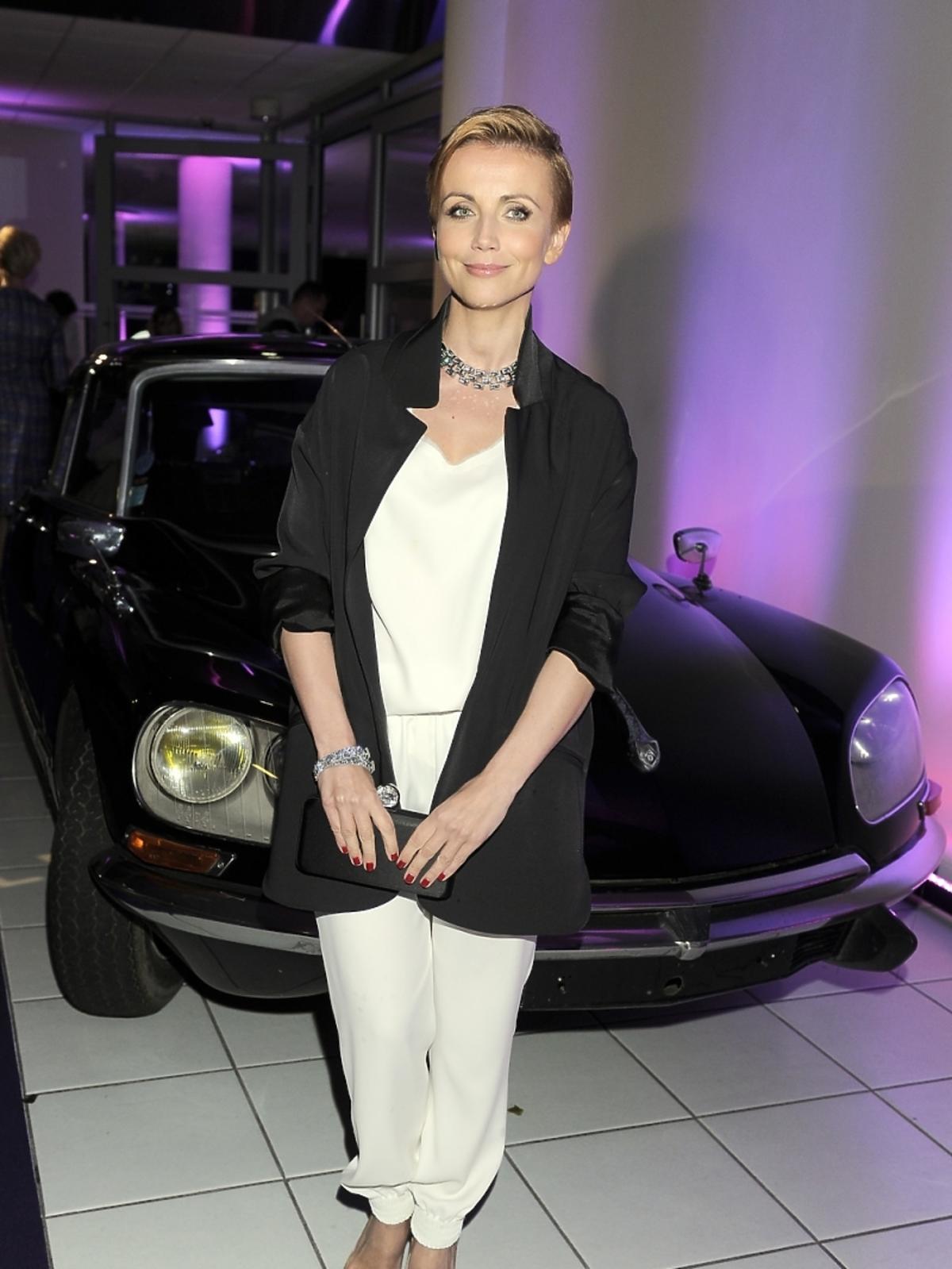 Katarzyna Zielińska na prezentacji nowej marki samochodowej