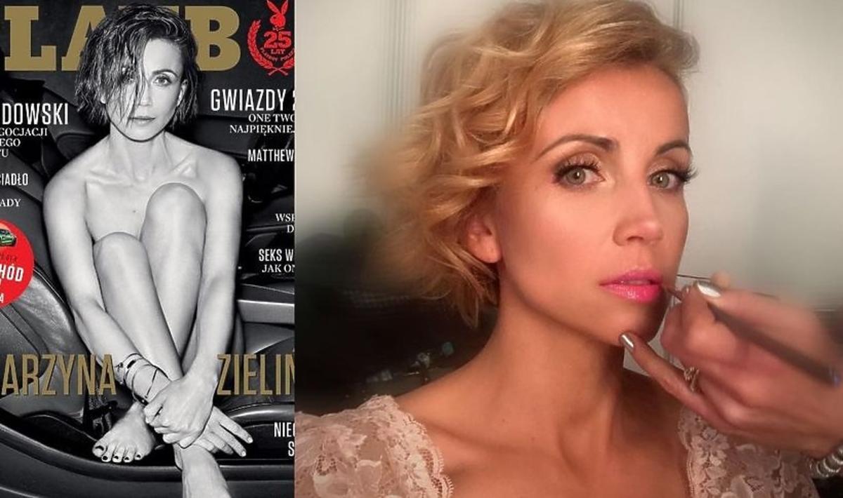 Katarzyna Zielińska pokazała gorące zdjęcie z sesji do Playboya