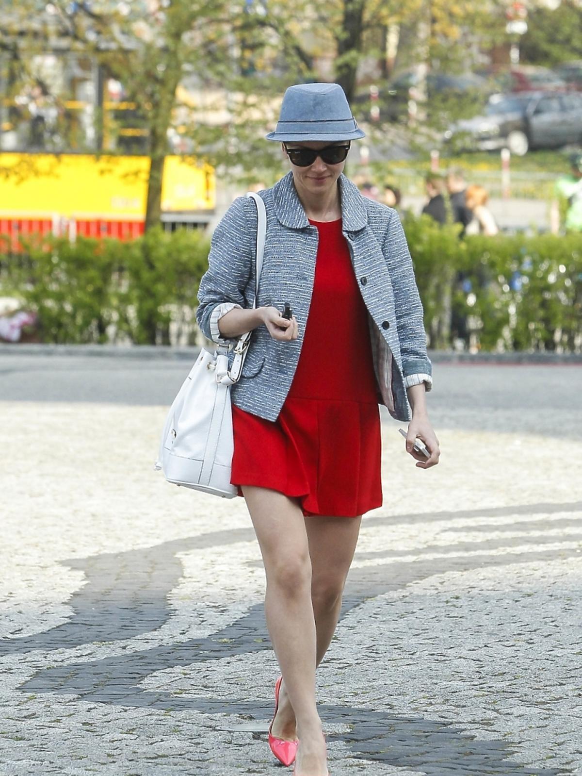 Katarzyna Zielińska przed studiem TVP