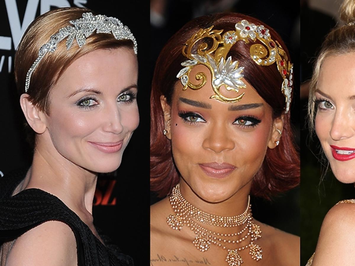 Katarzyna Zielińska, Rihanna, Kate Hudson w błyszczących opaskach