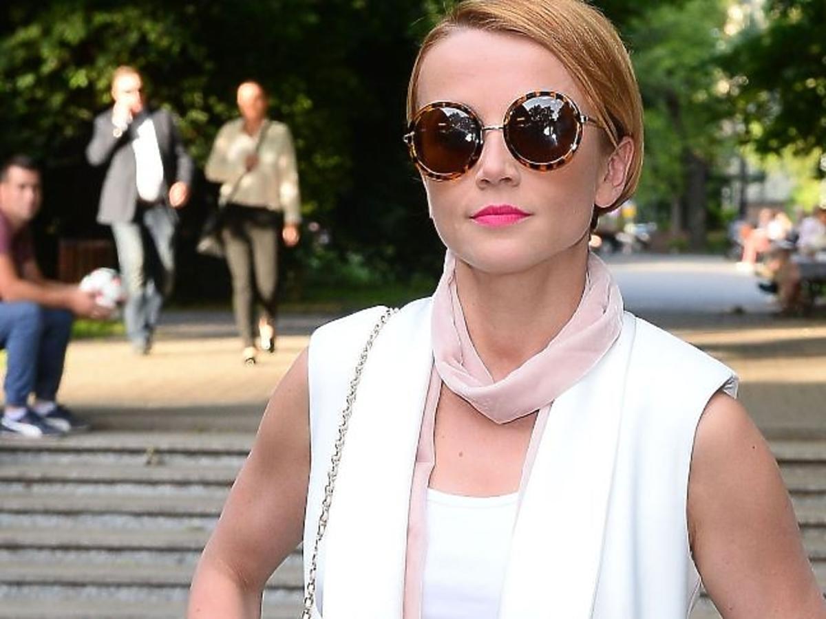 Katarzyna Zielińska w okularach