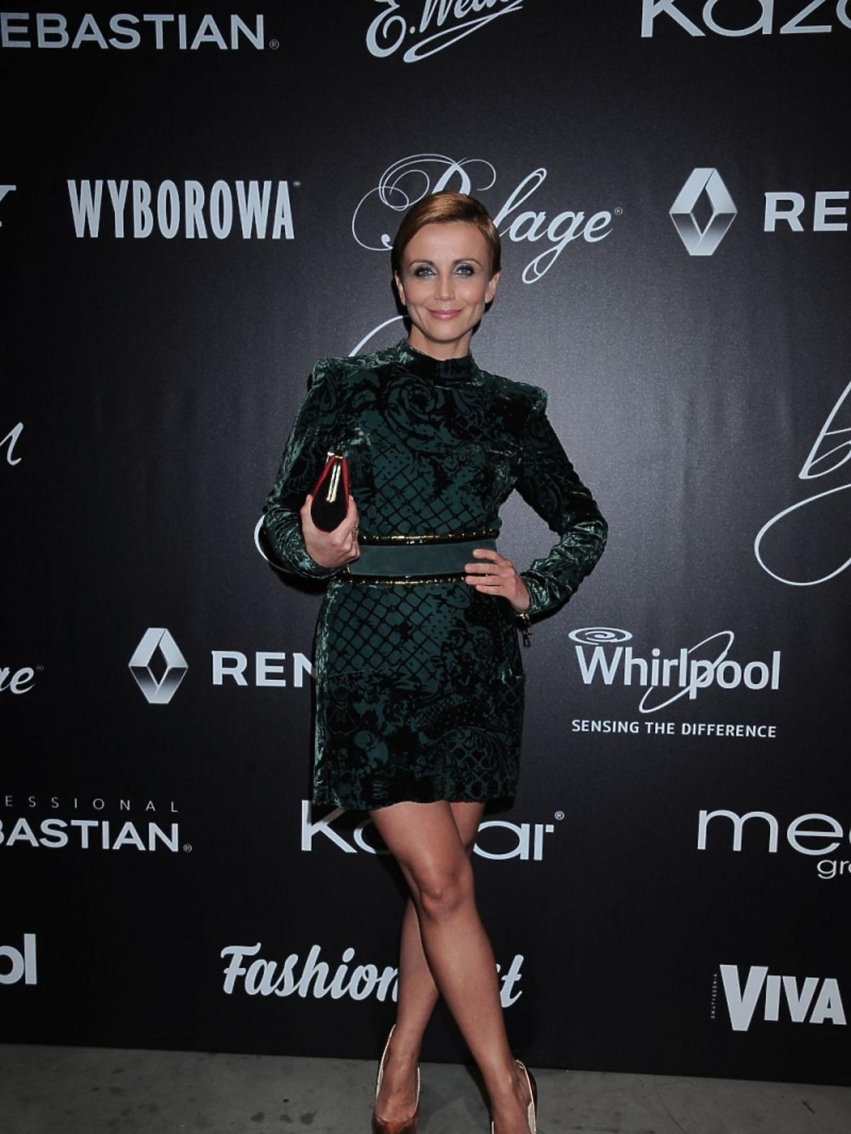 Katarzyna Zielińska w sukience Balmain