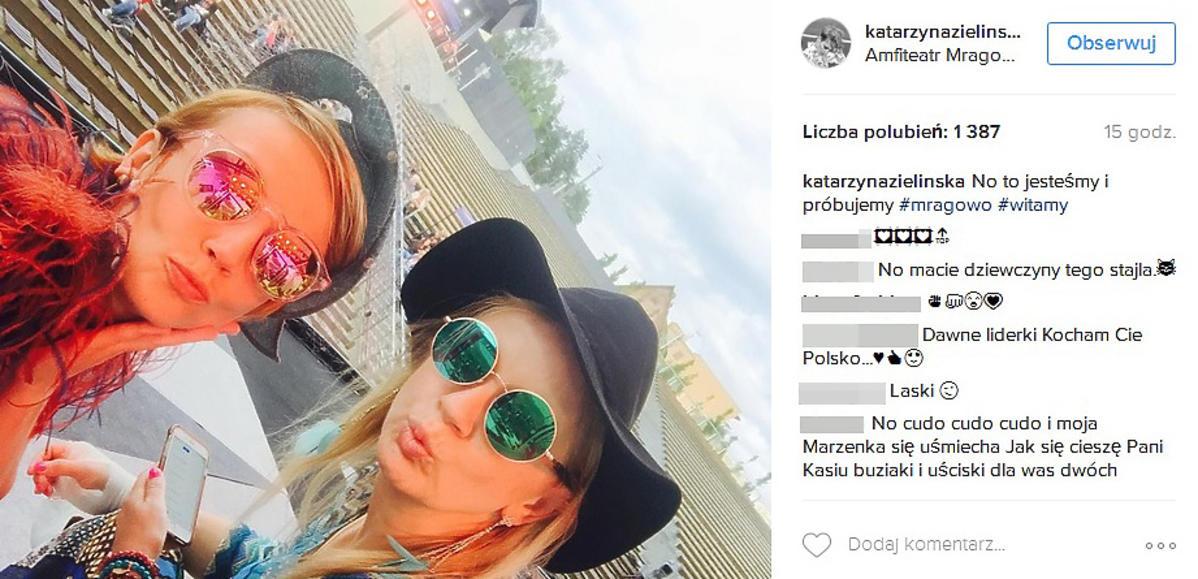 Katarzyna Zielińska zabrała Marzenę Rogalską do Mrągowa
