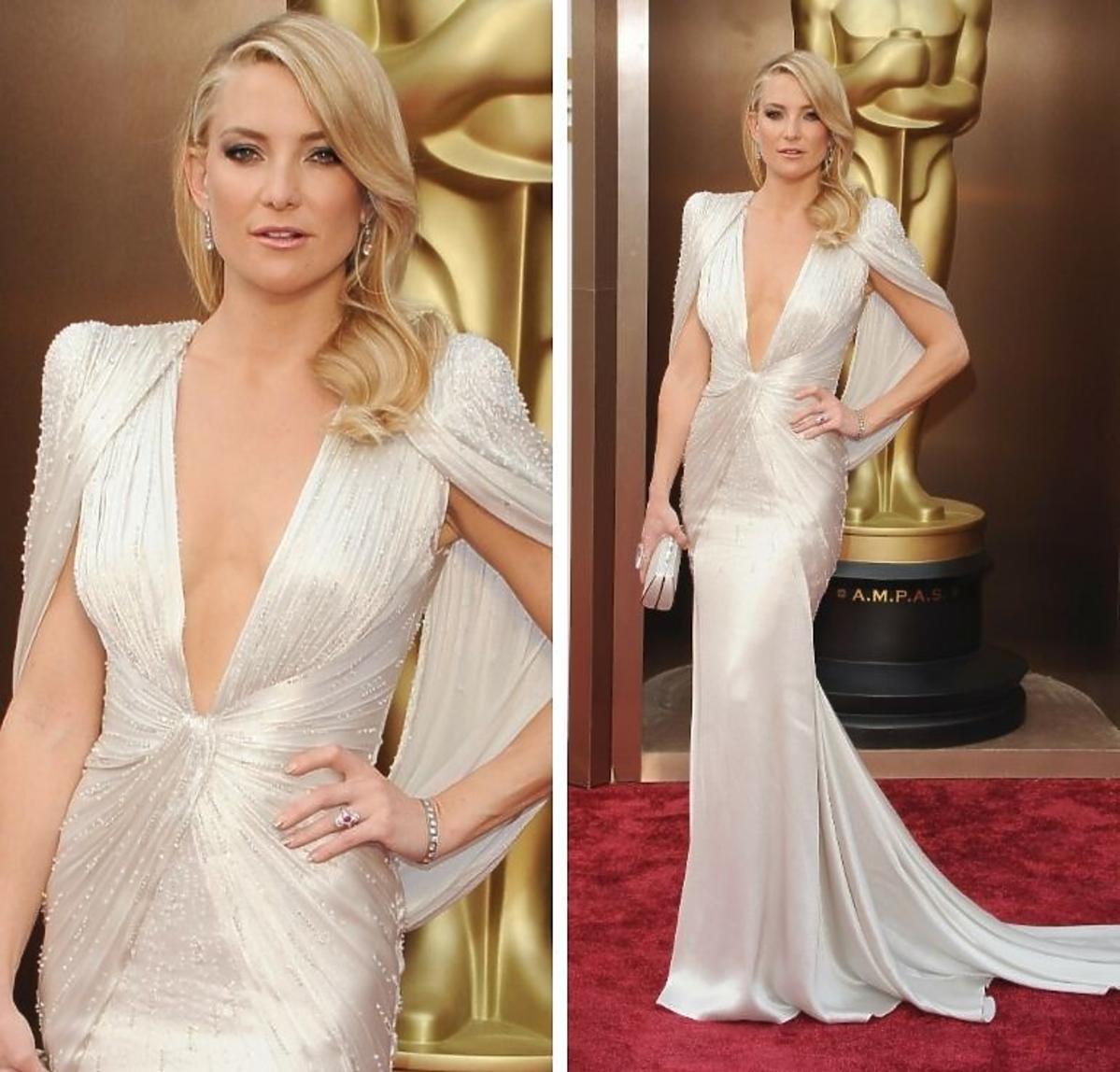 Kate Hudson w sukni Versace Oscary 2014
